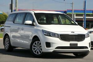 2016 Kia Carnival YP MY16 S White 6 Speed Sports Automatic Wagon Brendale Pine Rivers Area Preview