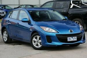 2012 Mazda 3 BL10F2 Neo Activematic Blue 5 Speed Sports Automatic Hatchback Ferntree Gully Knox Area Preview