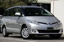 2012 Toyota Tarago ACR50R MY13 GLi Silver Pearl 7 Speed Constant Variable Wagon Adelaide CBD Adelaide City Preview