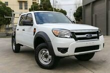 2009 Ford Ranger  White Automatic Cab Chassis North Melbourne Melbourne City Preview
