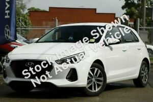 2019 Hyundai i30 PD2 MY19 Active White 6 Speed Manual Hatchback McGraths Hill Hawkesbury Area Preview