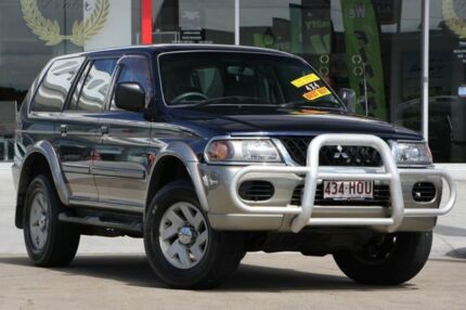 2003 Mitsubishi Challenger PA MY03 Blue 4 Speed Automatic Wagon Kippa-ring Redcliffe Area Preview
