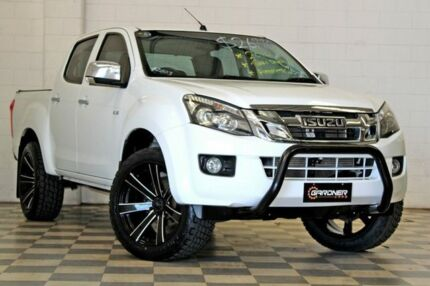 2014 Isuzu D-MAX TF MY15 LS-U HI-Ride (4x2) White 5 Speed Automatic Crew Cab Utility Burleigh Heads Gold Coast South Preview