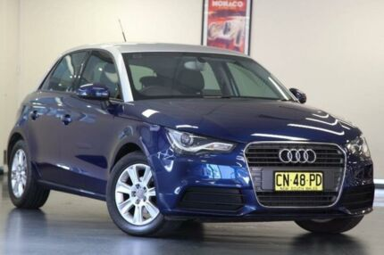 2013 Audi A1 8X Attraction Blue Sports Automatic Dual Clutch Hatchback