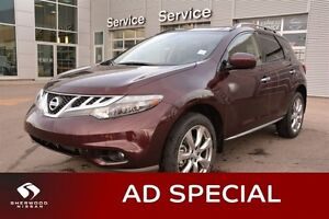 2014 Nissan Murano PLATINUM AWD Accident Free,  Leather,  Heated