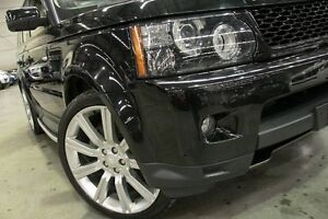 2012 Land Rover Range Rover MY12 Sport 3.0 SDV6 Black 6 Speed Automatic Wagon Petersham Marrickville Area Preview