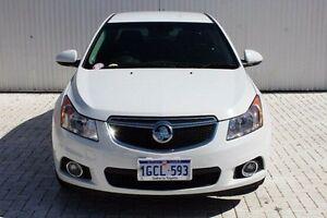 2013 Holden Cruze White Sports Automatic Sedan Embleton Bayswater Area Preview