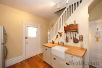 Beautiful three bedroom home in the Byward Market area.
