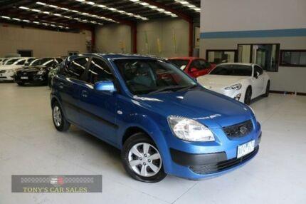 2009 Kia Rio JB EX Blue 4 Speed Automatic Hatchback
