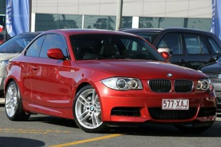 2010 BMW 135I E82 MY10 Sport Steptronic Red 6 Speed Sports Automatic Coupe Wavell Heights Brisbane North East Preview