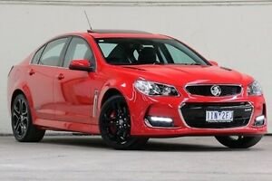 2016 Holden Commodore Red Sports Automatic Sedan Vermont Whitehorse Area Preview
