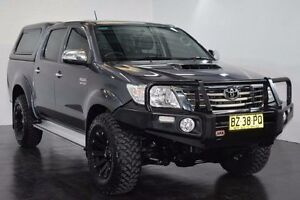 2014 Toyota Hilux KUN26R SR5 Grey Automatic Utility Lansvale Liverpool Area Preview