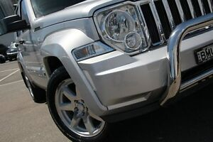 2009 Jeep Cherokee KK Limited (4x4) Silver 4 Speed Automatic Wagon Dee Why Manly Area Preview