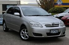 2004 Toyota Corolla  Silver Automatic Hatchback Doncaster Manningham Area Preview