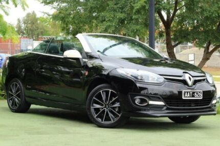 2014 Renault Megane III E95 Phase 2 Floride Cpe Cabrio Black 6 Speed Constant Variable Convertible