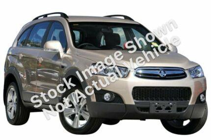 2012 Holden Captiva CG Series II 7 AWD CX Blue 6 Speed Sports Automatic Wagon Hamilton North Newcastle Area Preview