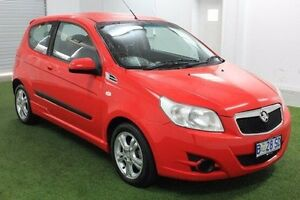 2010 Holden Barina TK MY11 Red 5 Speed Manual Hatchback Moonah Glenorchy Area Preview