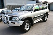 2002 Nissan Patrol GU III MY2002 ST Plus Beige 5 Speed Sports Automatic Wagon Heatherton Kingston Area Preview