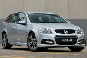 2015 Holden Commodore VF MY15 SV6 Silver 6 Speed Automatic Sportswagon Wolli Creek Rockdale Area Preview