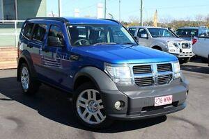 2007 Dodge Nitro KA MY07 SX Blue 4 Speed Automatic Wagon Wakerley Brisbane South East Preview