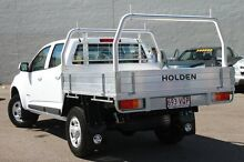 2015 Holden Colorado RG MY15 LS Crew Cab White 6 Speed Sports Automatic Cab Chassis Wilston Brisbane North West Preview