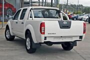 2012 Nissan Navara D40 S7 MY12 RX White 6 Speed Manual Utility Hillcrest Logan Area Preview