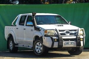 2006 Toyota Hilux KUN26R MY07 SR5 White 5 Speed Manual Utility Ringwood East Maroondah Area Preview