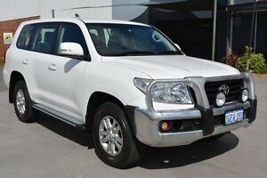 2012 Toyota Landcruiser URJ202R MY12 GXL (4x4) Glacier White 6 Speed Automatic Wagon Welshpool Canning Area Preview