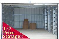 Moving? Staging? 1/2 Price Kamloops Self Storage