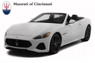 2018 Maserati Gran Turismo Sport 2018 Maserati GranTurismo Convertible Sport 7901 Miles Bianco Eldorado Convertib