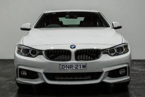 2015 BMW 420I F32 M Sport White 8 Speed Sports Automatic Coupe