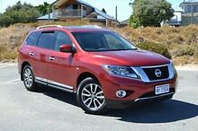 2015 Nissan Pathfinder R52 MY15 ST-L X-tronic 2WD Red 1 Speed Constant Variable Wagon Mandurah Mandurah Area Preview