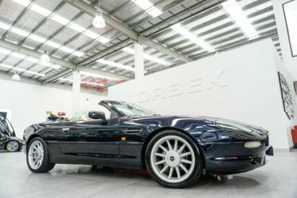 1997 Aston Martin DB7 Volante Blue 4 Speed Automatic Convertible