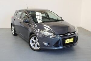 2013 Ford Focus LW MKII Sport Midnight Sky 5 Speed Manual Hatchback Hamilton East Newcastle Area Preview