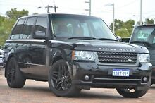 2010 Land Rover Range Rover Vogue L322 11MY TDV8 Santorini Black 8 Speed Sports Automatic Wagon Osborne Park Stirling Area Preview