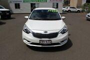 2015 Kia Cerato YD MY15 S Snow White Pearl 6 Speed Sports Automatic Sedan Toowoomba Toowoomba City Preview
