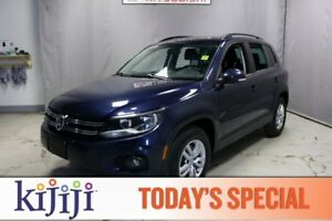 2015 Volkswagen Tiguan AWD TRENDLINE Heated Seats,  Bluetooth,