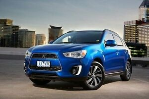 2015 Mitsubishi ASX XB MY15 XLS 2WD Blue 6 Speed Constant Variable Wagon Embleton Bayswater Area Preview