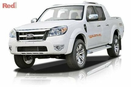 2010 Ford Ranger PK Wildtrak Crew Cab White 5 Speed Manual Utility Maddington Gosnells Area Preview