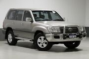 2005 Toyota Landcruiser UZJ100R Upgrade II GXL (4x4) Silver 5 Speed Automatic Wagon Bentley Canning Area Preview