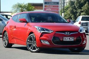 2015 Hyundai Veloster FS4 Series II + Coupe D-CT Red 6 Speed Sports Automatic Dual Clutch Hatchback Macgregor Brisbane South West Preview