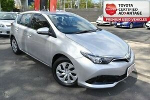2015 Toyota Corolla Silver Constant Variable Hatchback Taringa Brisbane South West Preview