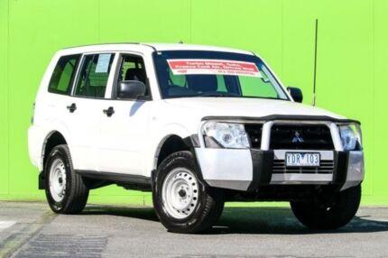 2010 Mitsubishi Pajero NT MY10 GL White 5 Speed Sports Automatic Wagon Ringwood East Maroondah Area Preview