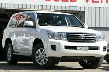 2013 Toyota Landcruiser VDJ200R MY13 GXL (4x4) White 6 Speed Automatic Wagon Mosman Mosman Area Preview