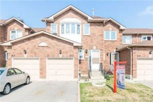 Well Maintained Family Sized Town Home With 3 B.R's & 4 W.R's