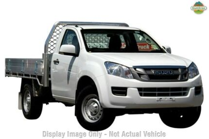 2015 Isuzu D-MAX MY15 SX High Ride Splash White 5 Speed Auto Seq Sportshift Cab Chassis Frewville Burnside Area Preview