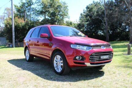 2011 Ford Territory SZ TS (RWD) Seduce 6 Speed Automatic Wagon