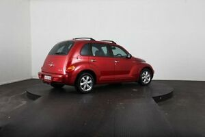 2002 Chrysler PT Cruiser Limited Red 4 Speed Automatic Hatchback
