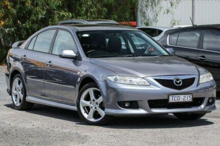 2004 Mazda 6 GG1031 MY04 Luxury Sports Grey 4 Speed Sports Automatic Hatchback Ferntree Gully Knox Area Preview