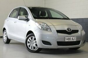 2009 Toyota Yaris NCP90R MY10 YR Silver 4 Speed Automatic Hatchback Nailsworth Prospect Area Preview